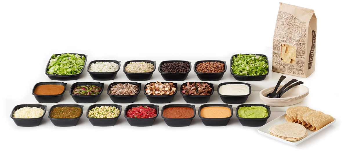 photograph about Chipotle Printable Menu called Catering